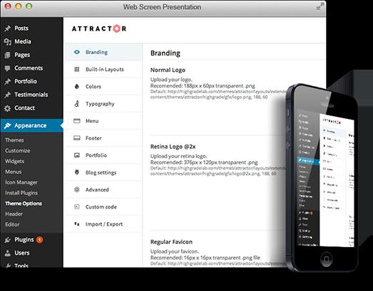 attractor-admin-responsive